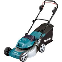 Makita DLM460 Twin 18v LXT Cordless Brushless Rotary Lawn Mower No Batteries No Charger