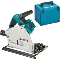 Makita DSP600ZJ Twin 18V LXT Cordless Brushless Plunge Saw No Batteries No Charger Case