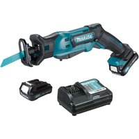 Makita JR103 10.8v Cordless CXT Reciprocating Saw 2 x 2ah Blutooth Li-ion Charger Case