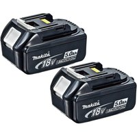 Makita BL1850B 18v Cordless Li ion Battery 5ah Pack of 2