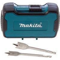 Makita 8 Piece Flat Wood Drill Bit Set