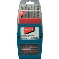 Makita 29 Piece Drill and Screwdriver Bit Set