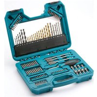Makita 105 Piece Pro Drill Bit and Accessory Set