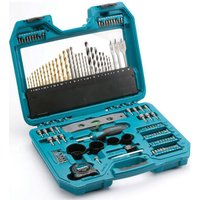Makita 120 Piece Pro Power Tool Drill Bit & Accessory Set