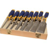 Marples M500 8 Piece Bevel Edge Wood Chisel Set