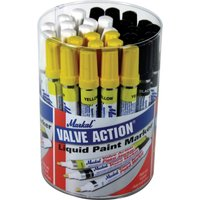 Markal Valve Action Paint Marker Pen Tub Assorted Pack of 24