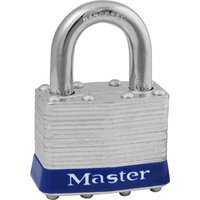 Masterlock Laminated Steel Padlock Keyed Alike 29mm Standard