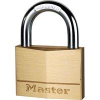Masterlock Solid Brass Padlock 60mm Standard