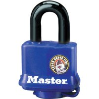Masterlock Weather Tough Padlock 40mm Black Standard