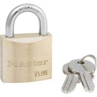 Masterlock V Line Brass Padlock Keyed Alike 30mm Standard 243