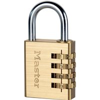 Masterlock Brass Finish Combination Padlock 40mm Standard