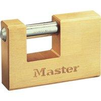 Masterlock Rectangular Solid Body Shutter Padlock 76mm Standard