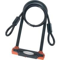 Master Lock High Security U Bar Bicycle Lock with Security Cable
