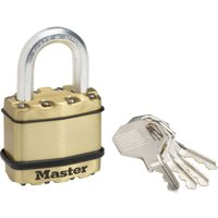 Masterlock Excell Brass Finish Padlock 45mm Standard