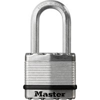 Masterlock Excell Laminated Steel Padlock 45mm Long