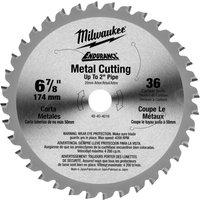 Milwaukee Endurance Metal Steel Cutting Circular Saw Blade 174mm 36T 20mm