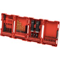 Milwaukee 62 Piece Shockwave Impact Drill and Screwdriver Bit Set