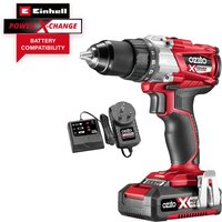 Ozito PXBDS 18v Cordless Brushless Drill Driver 1 x 2ah Li-ion Charger No Case