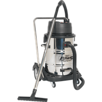 Sealey PC477 Twin Motor Wet and Dry Vacuum Cleaner with Trolley Cart 240v