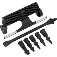 Sealey 7 Piece Water Broom Set for Pressure Washers