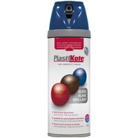 Plastikote Premium Gloss Aerosol Spray Paint Royal Blue 400ml