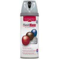Plastikote Premium Gloss Aerosol Spray Paint Smoke Infusion 400ml