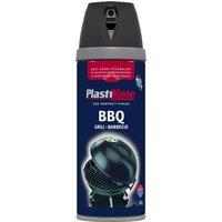 Plastikote BBQ Spray Aerosol Paint Black 400ml