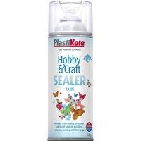 Plastikote Hobby & Craft Sealer Spray Clear Satin 400ml