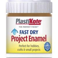 Plastikote Fast Dry Enamel Aerosol Spray Paint Nut Brown 59ml