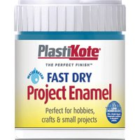 Plastikote Fast Dry Enamel Aerosol Spray Paint Harbour Blue 59ml