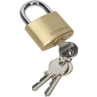 Sealey Brass Padlock 40mm Standard