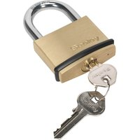 Sealey Brass Padlock 50mm Standard