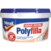 Polycell Multi Purpose Quick Drying Polyfilla Tub 500g