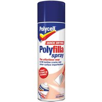 Polycell Quick Drying Polyfilla Spray 300ml