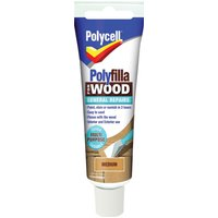 Polycell Polyfilla for Wood General Repairs Medium 75g