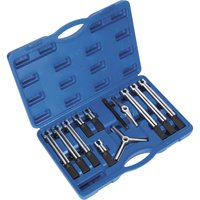 Sealey 12 Piece Bearing & Gear Puller Set