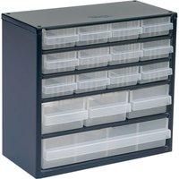 Raaco 16 Drawer Metal Cabinet
