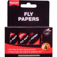 Rentokil Flypapers Pack of 4