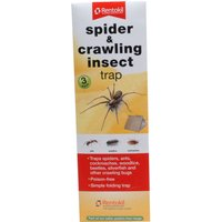 Rentokil Spider & Crawling Insect Trap Pack of 3