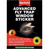 Rentokil Advanced Window Fly Traps Pack of 4