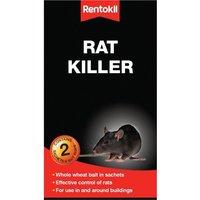 Rentokil Rat Killer Rodenticide Bait 200g