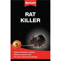 Rentokil Rat Killer Rodenticide Bait 500g