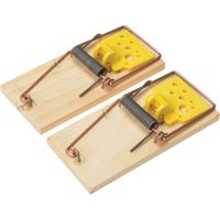 Rentokil Wooden Mouse Traps Pack of 2