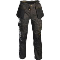 "Roughneck Mens Holster Trousers Black / Grey 36"" 31"""