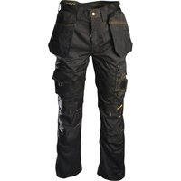 "Roughneck Mens Holster Trousers Black 42"" 33"""