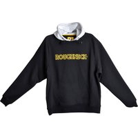 Roughneck Mens Hoodie Black / Grey L