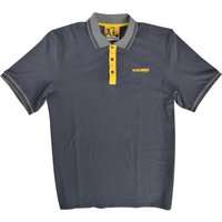 Roughneck Mens Polo Shirt Grey 2XL