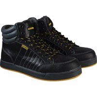 Roughneck Mens Raptor Hi Top Safety Trainers Black Size 10