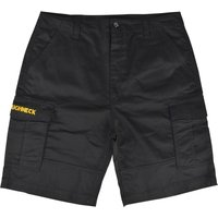 Roughneck Mens Cargo Shorts Black 42