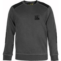 Roughneck Mens Crewneck Sweatshirt Grey 2XL